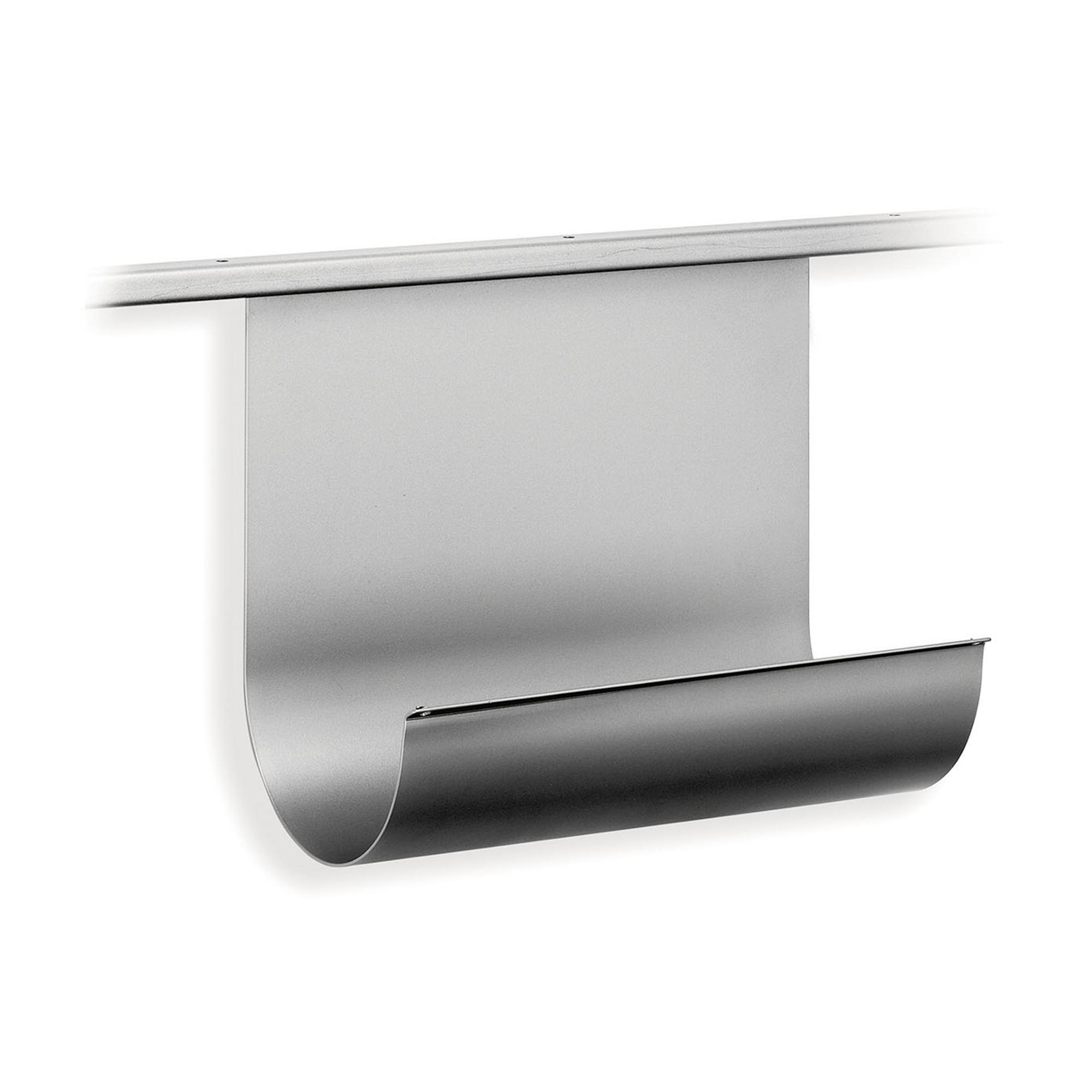 Portascottex 25x13xh20 cm per binario per sistema binario sottopensile Alluminio