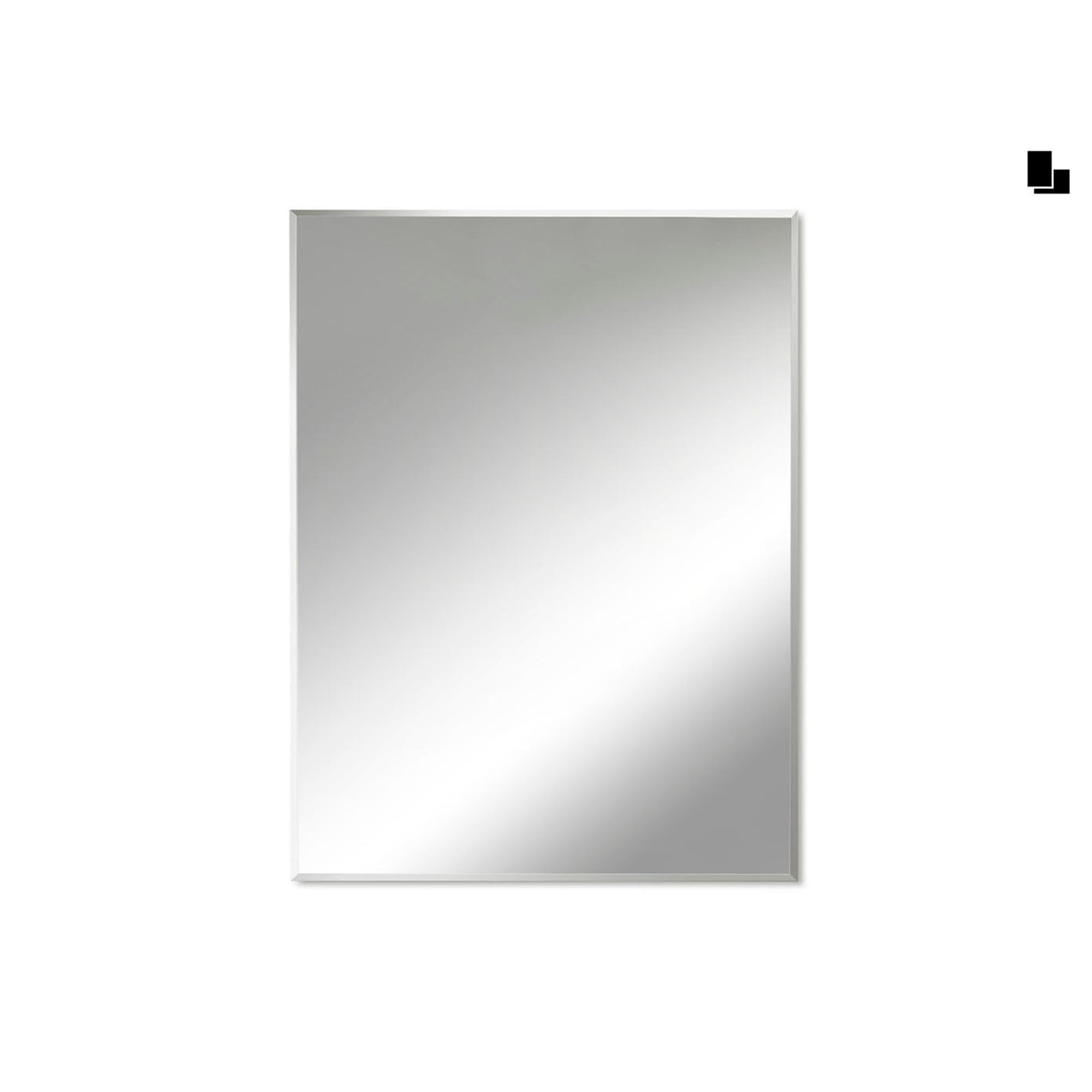 Specchio rettangolare bisellato 60x80x5 cm spessore - Specchio verticale ...