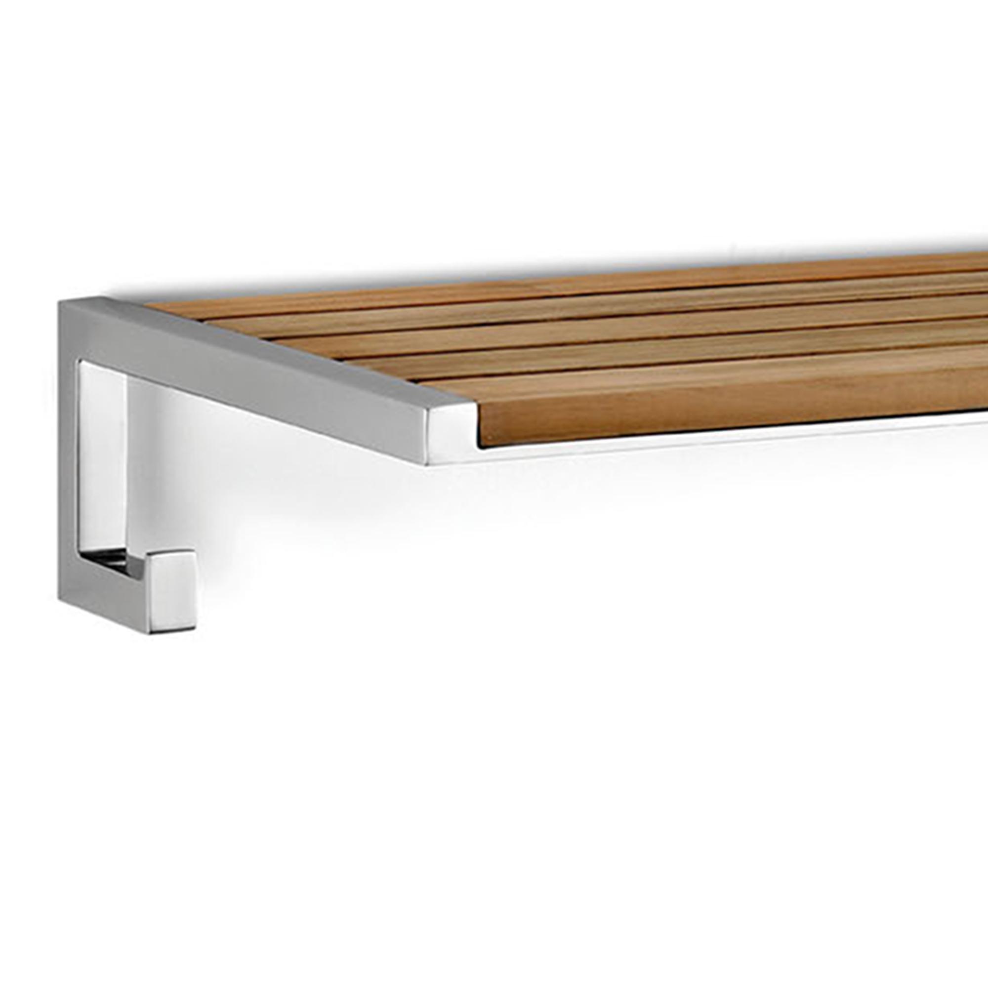 Portasalviette ripiano per bagno NATURA 65,10x28xh11 cm in Teak  IBB Spa  Stilcasa.Net ...