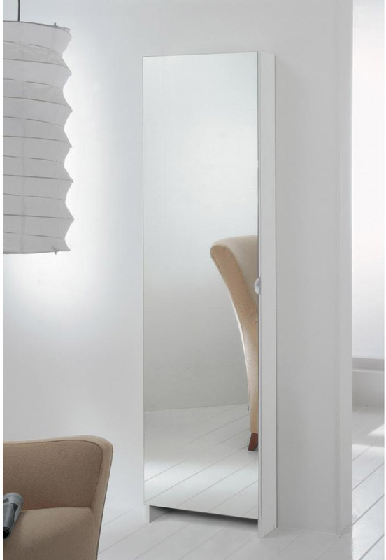 Scarpiera bianca con specchio longo stilcasa net - Scarpiera specchio bianca ...