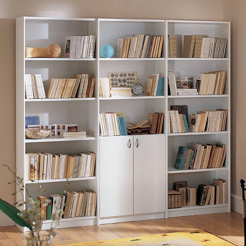 Libreria bianca h 201 longo stilcasa net for Libreria bianca economica