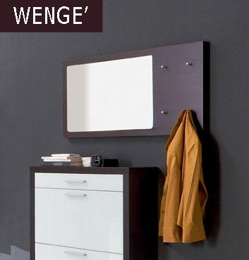 Specchio a muro colore weng longo stilcasa net for Specchio wenge