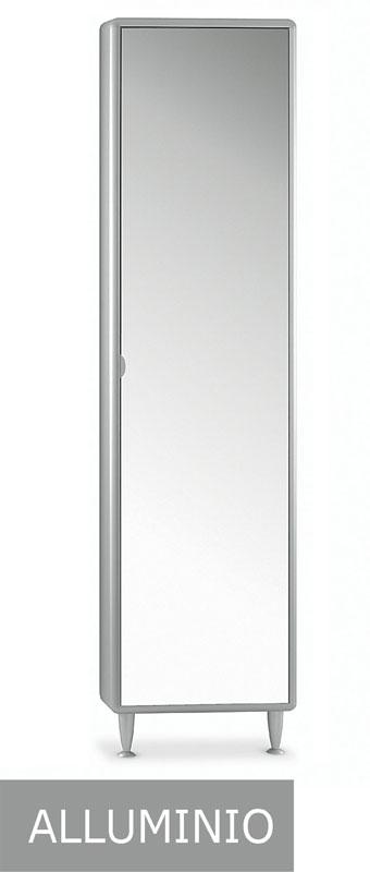 Scarpiera a specchio col alluminio longo stilcasa net - Alluminio lucidato a specchio ...