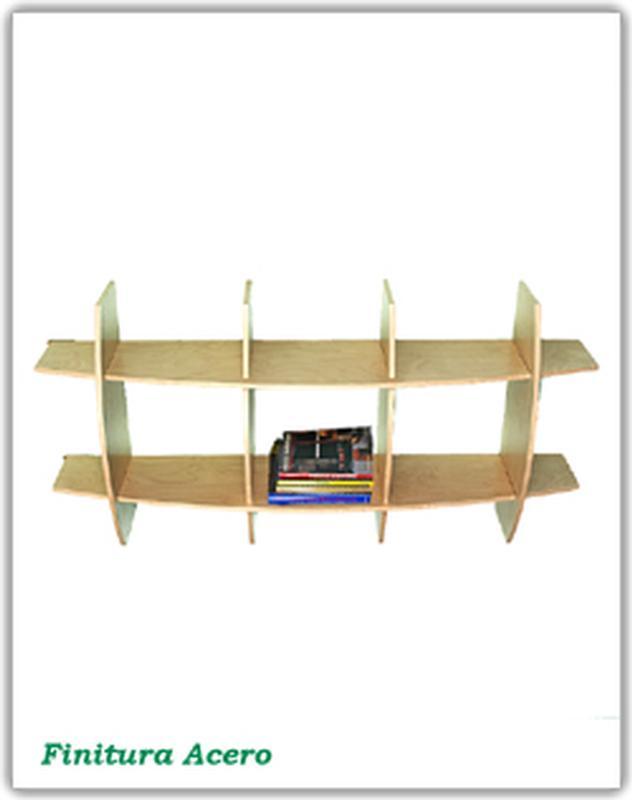 Libreria In legno Mod. AMBRA