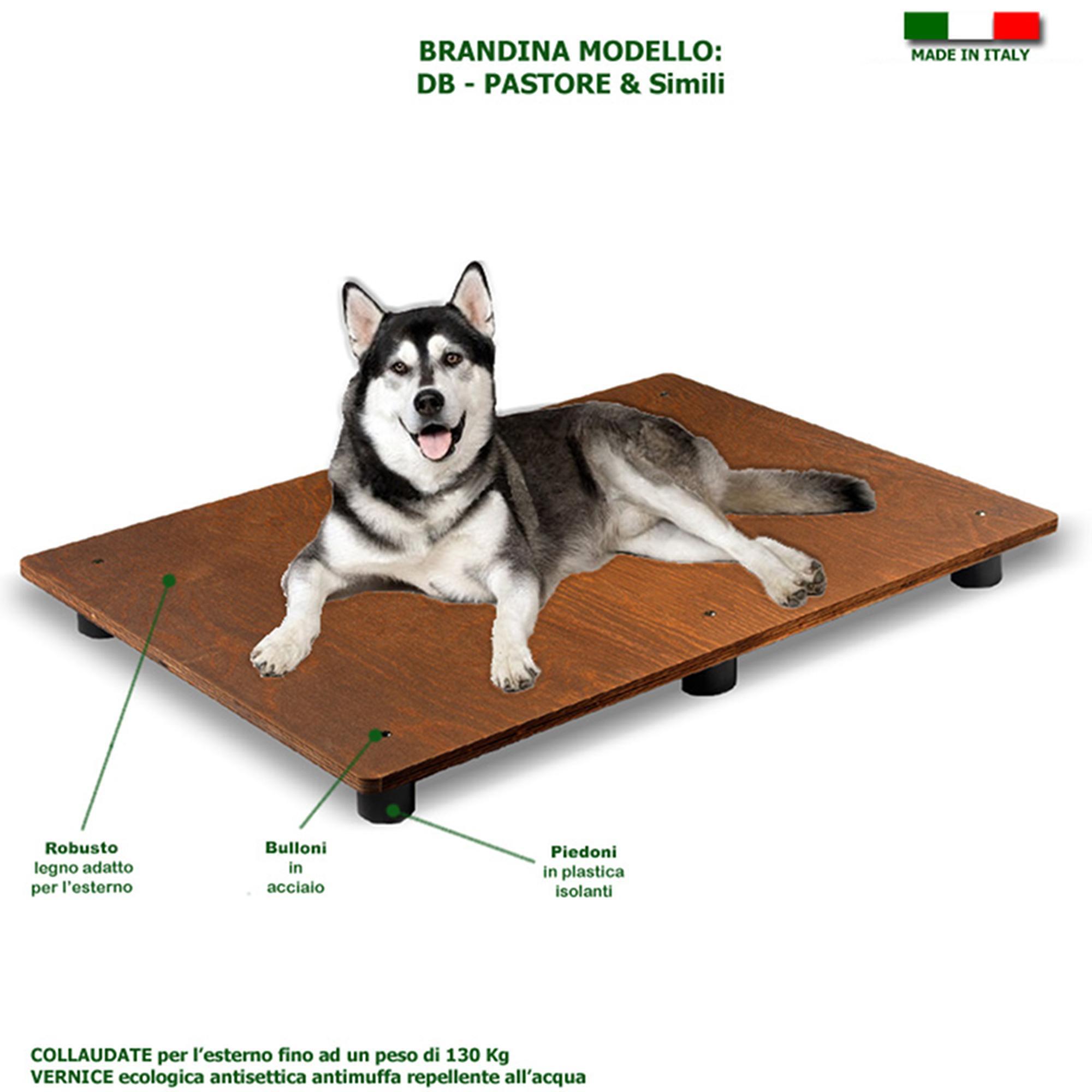 Pedane In Plastica Per Cani.Brandine Per Cani In Legno 115x80x2xh10 Per Cane Alano E Simili