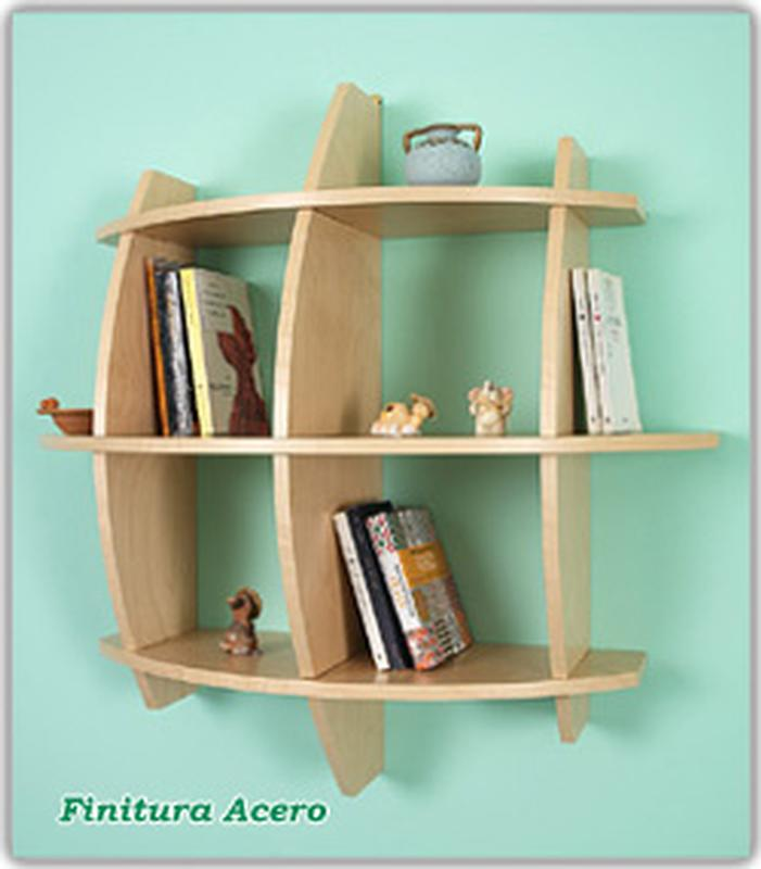 Libreria In legno Mod.PEPE