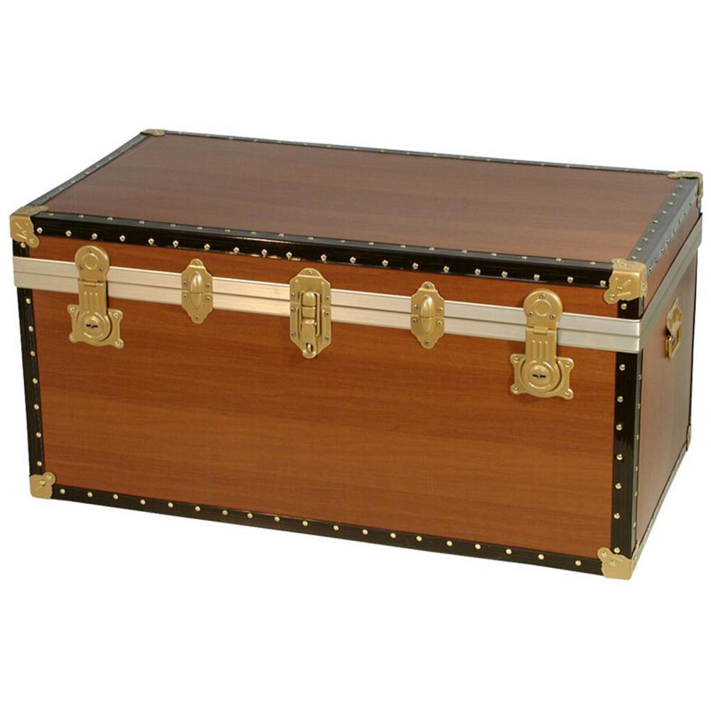 Baule contenitore portabiancheria in legno pressato easy for Bauli arredamento