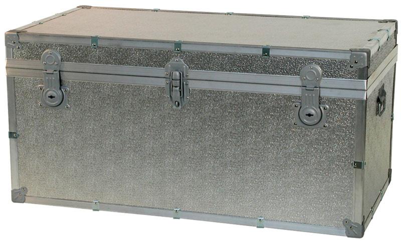 Baule contenitore portabiancheria in legno pressato - Scatole porta indumenti ...