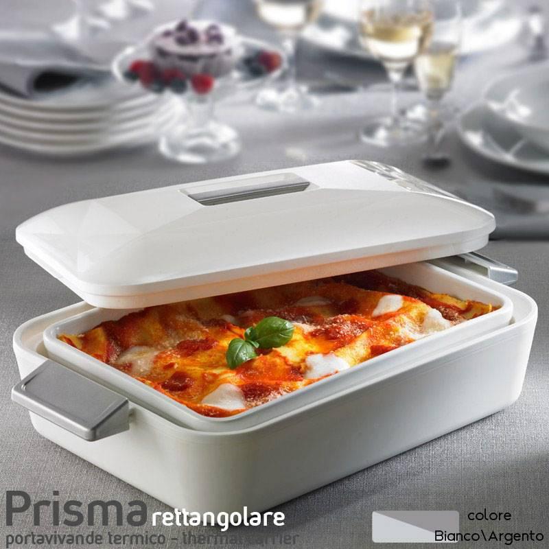 Contenitore termico ovale per alimenti con pirofila in for Contenitori termici per alimenti