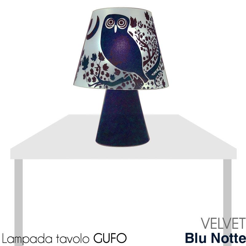Lampada da tavolo gufo vl painting velvet stilcasa net for Costo lampada