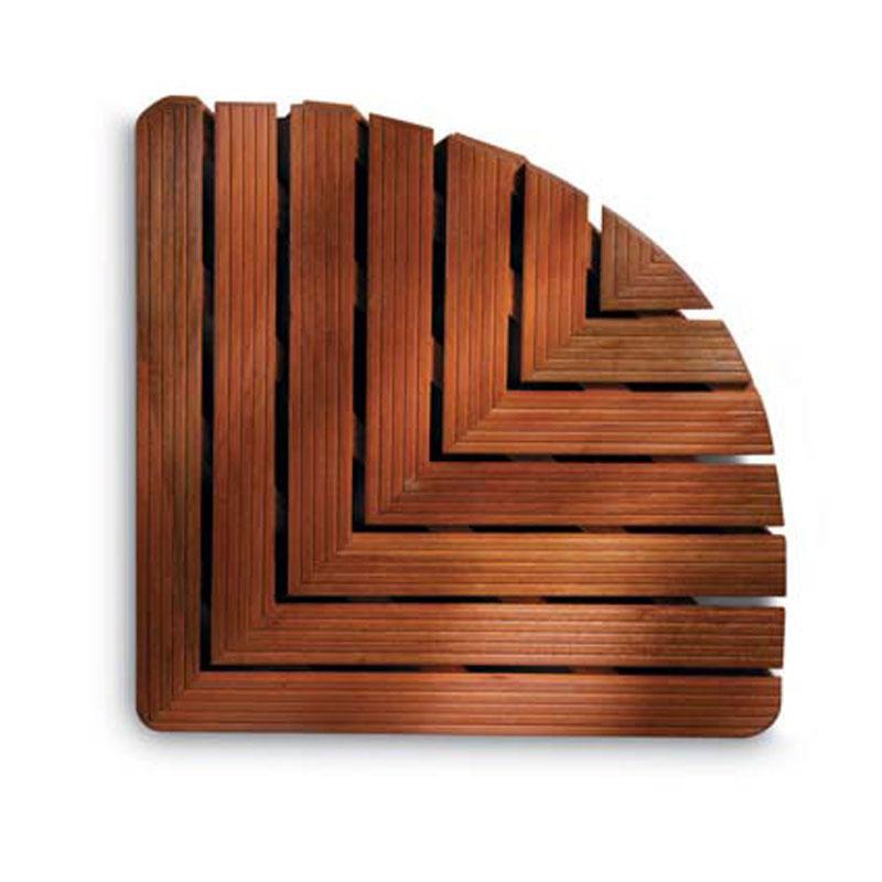 Pedana doccia forma angolare 64x64xh5 cm in legno dimensioni legno gombe con olio di lino aris - Olio di lino per mobili ...