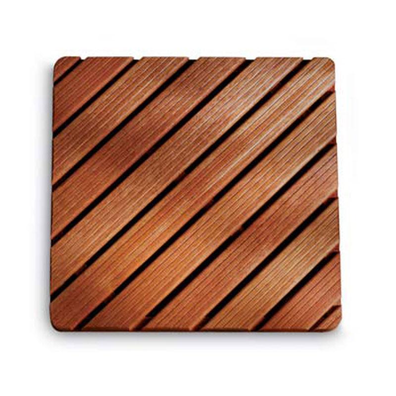 Pedana doccia in legno 70 x 70 ad alta resistenza varie dimensioni Legno Gombe con olio di Lino ...