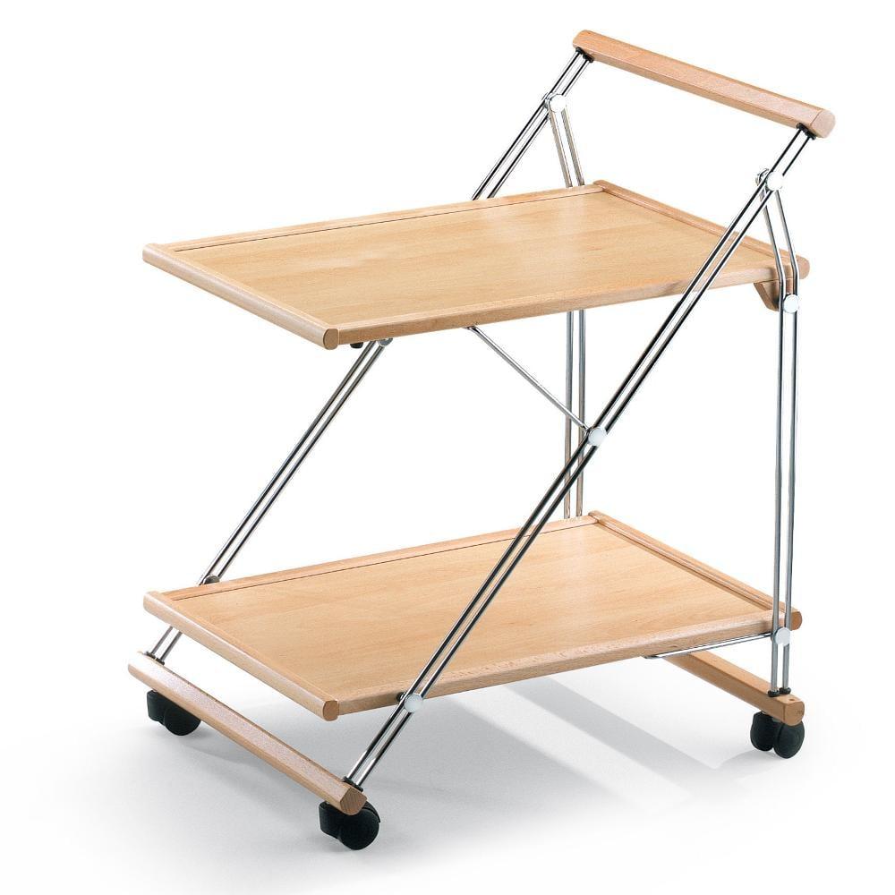 Carrello porta vivande richiudibile struttura in legno PLIOFIL ...