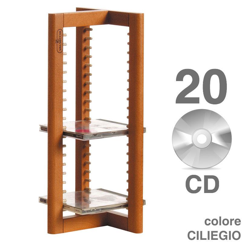 Porta CD legno Tower 21 CD | Valsecchi S.p.a. | Stilcasa.Net: Porta ...