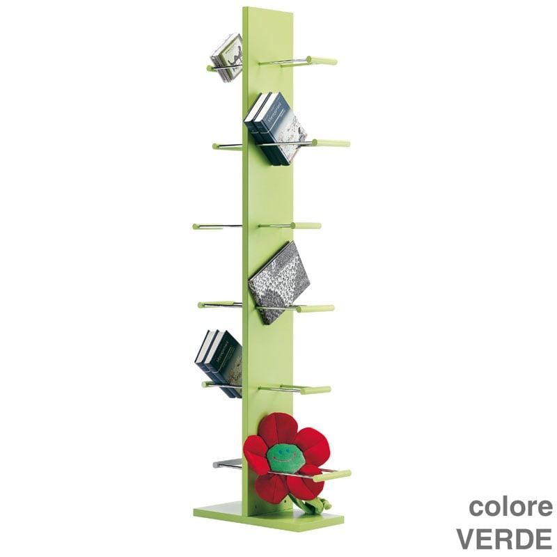 Libreria colonna conbuki verde valsecchi s p a stilcasa net librerie - Libreria verde ...
