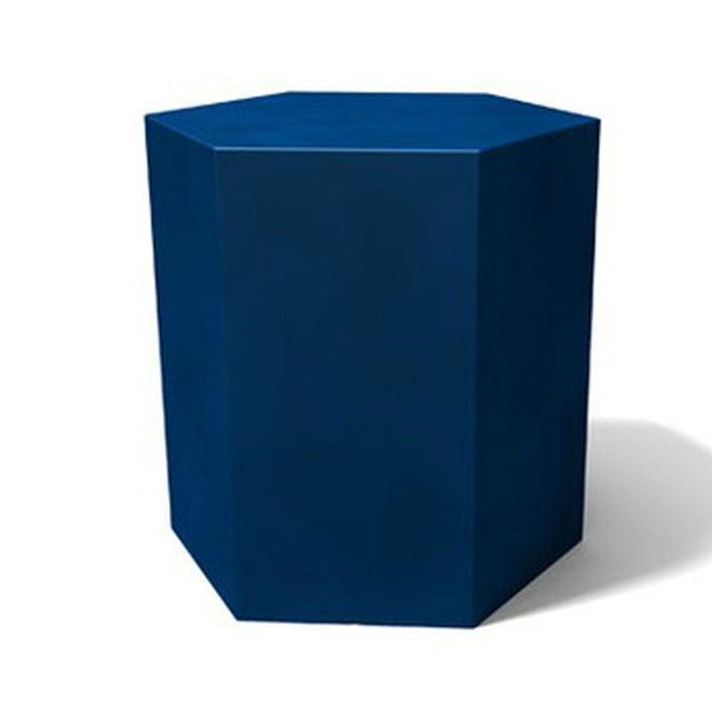Tavolino esagonale Icetab Blu  Kloris  Stilcasa.Net ...
