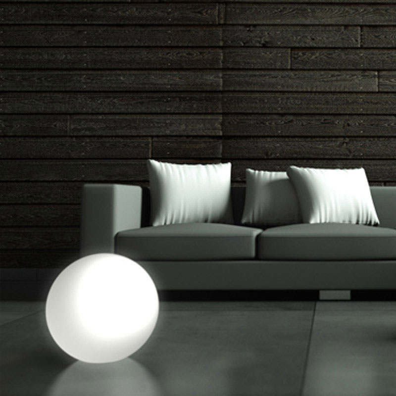 Lampada Sfera MOON per internoesterno diametro 45cm  Kloris  Stilcasa.Net: lampade da terra