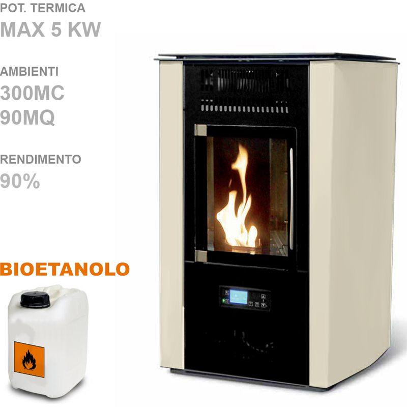 COMPLETA 5kW Stufa Bioetanolo Fuchs | Fuchs | Stilcasa.Net: