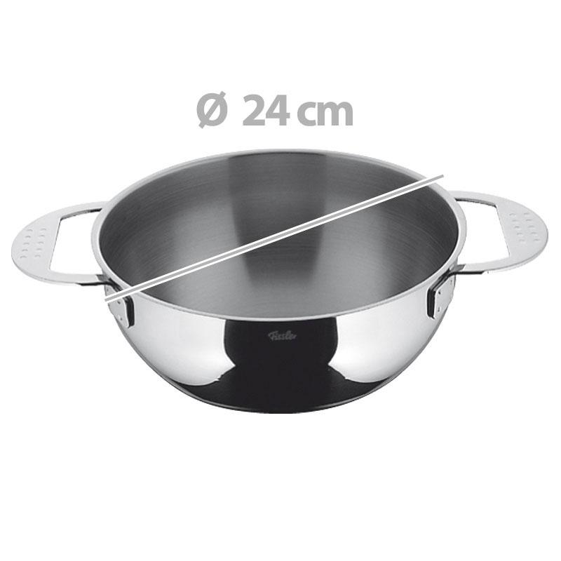 bastardella acciaio 24 cm magic fissler cookware stilcasa net. Black Bedroom Furniture Sets. Home Design Ideas