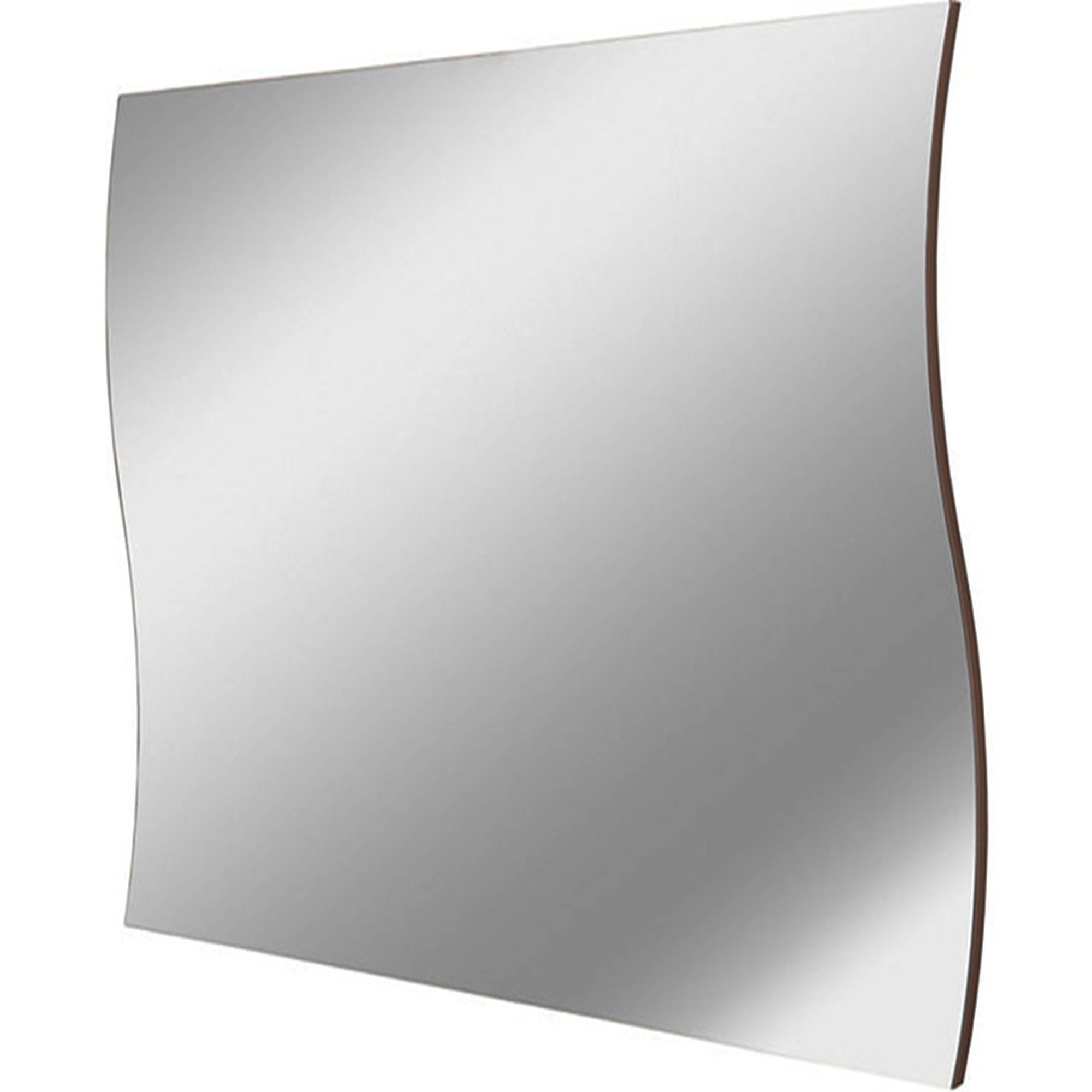 Specchio da Muro ONDA 71x2x60cm con Bordo laterale Nero | Tecnos ...