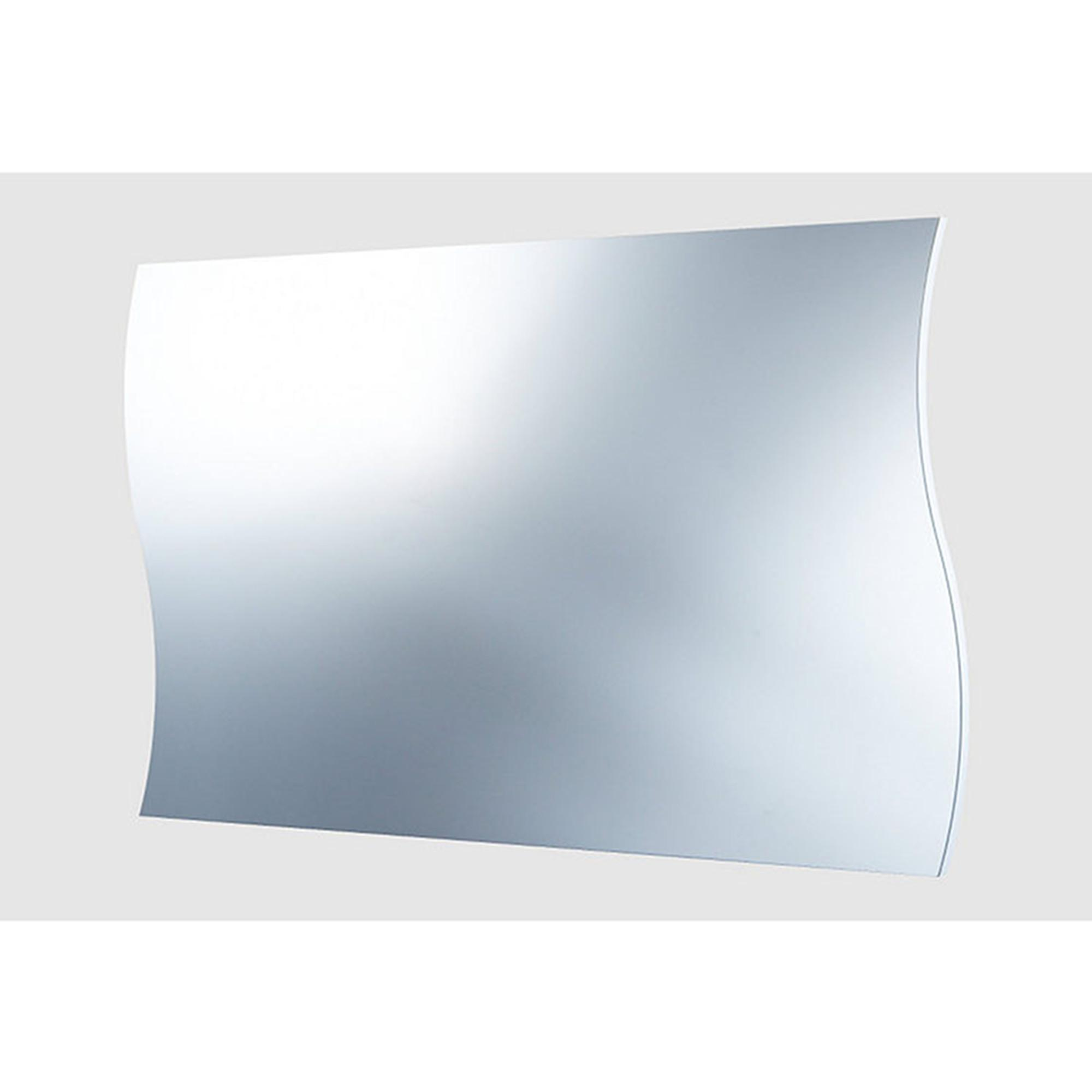 Specchio da muro onda 101x2x60cm bordo bianco tecnos arredamento stilcasa net specchi a parete - Specchio onda ikea ...