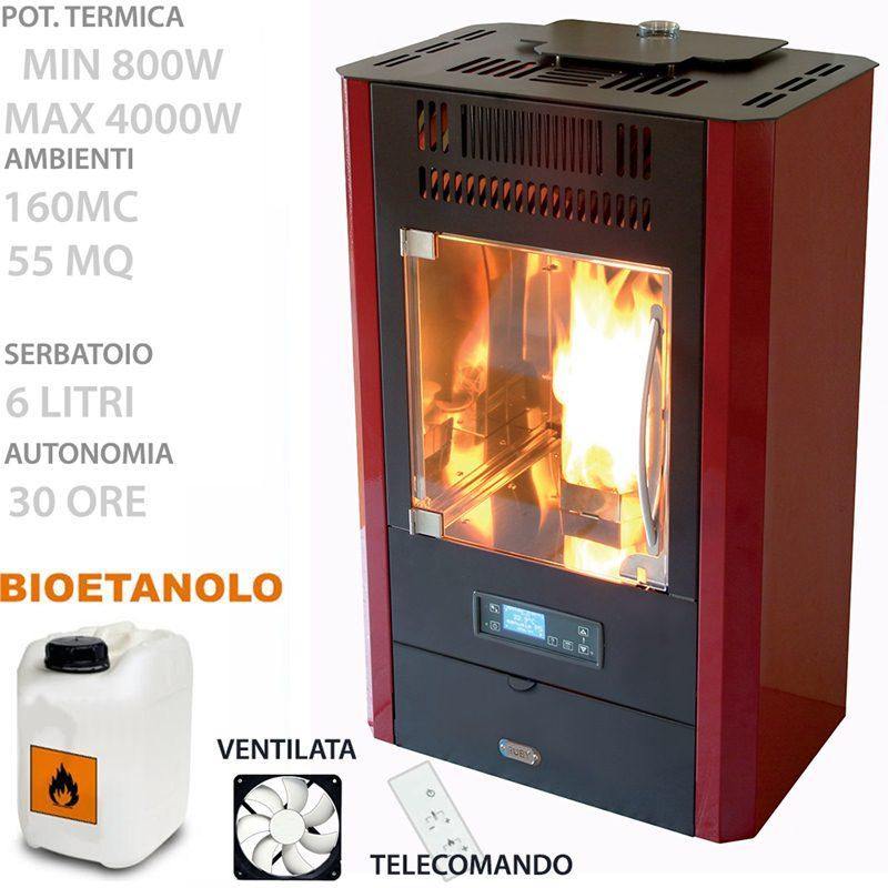 Stufa bioetanolo ventilata opinioni gallery of stufe a for Stufa a bioetanolo elettronica ruby compact