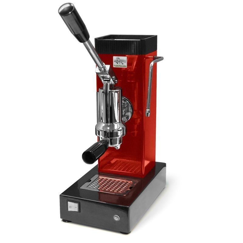 Macchina da Caffe Export a Leva Colore ROSSO per cialde o caffe ...