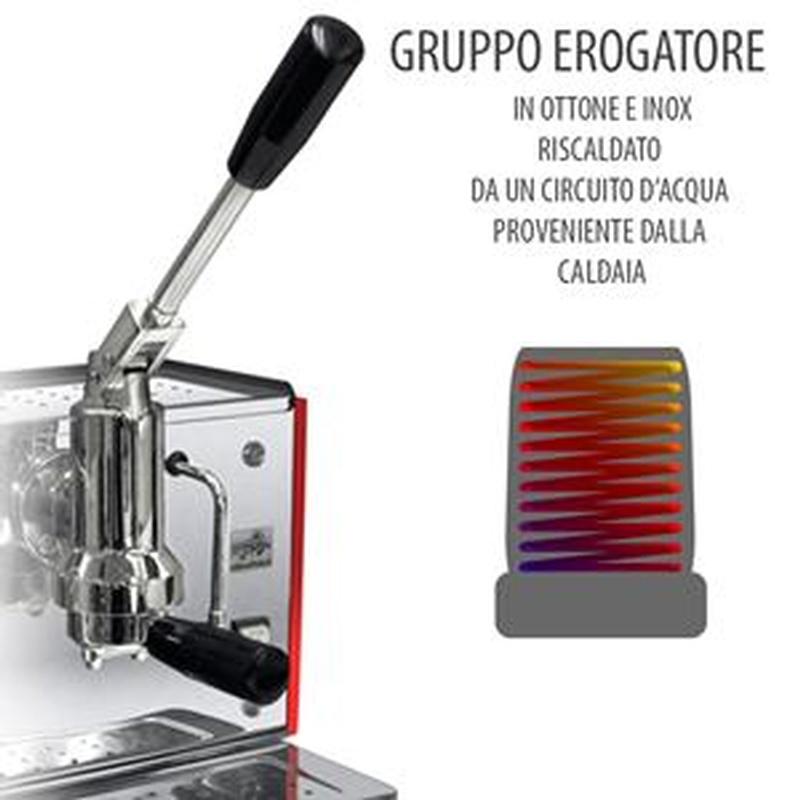 Macchina da Caffe TABACCO Bar Lusso a Leva 1 Gruppo per cialde o ...