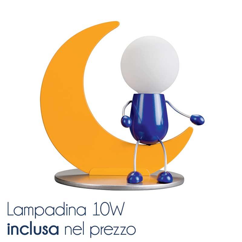lampada da tavolo con luna | massive by philips | stilcasa.net ... - Lampade Bambini Philips