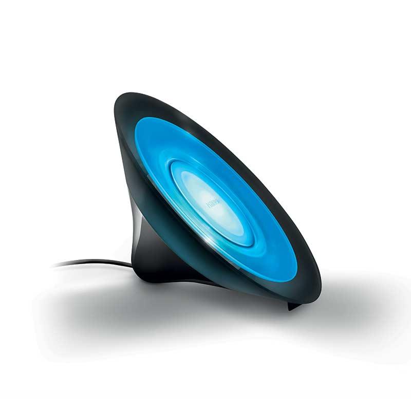 lampada da tavolo luce colorata nr philips illuminazione