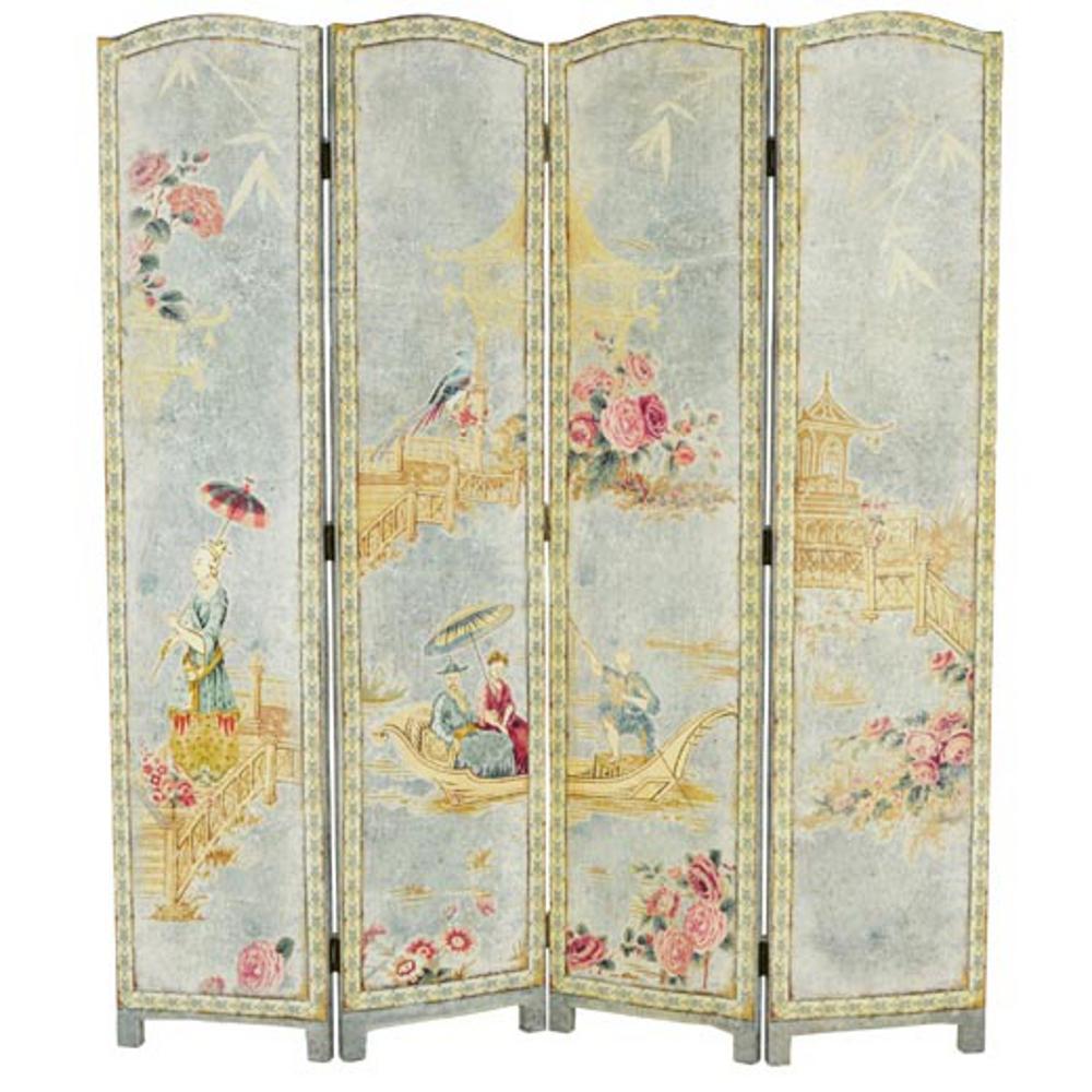Separ in tessuto stampato telaio in legno cm 160x h183 4 - Separe prezzi ...