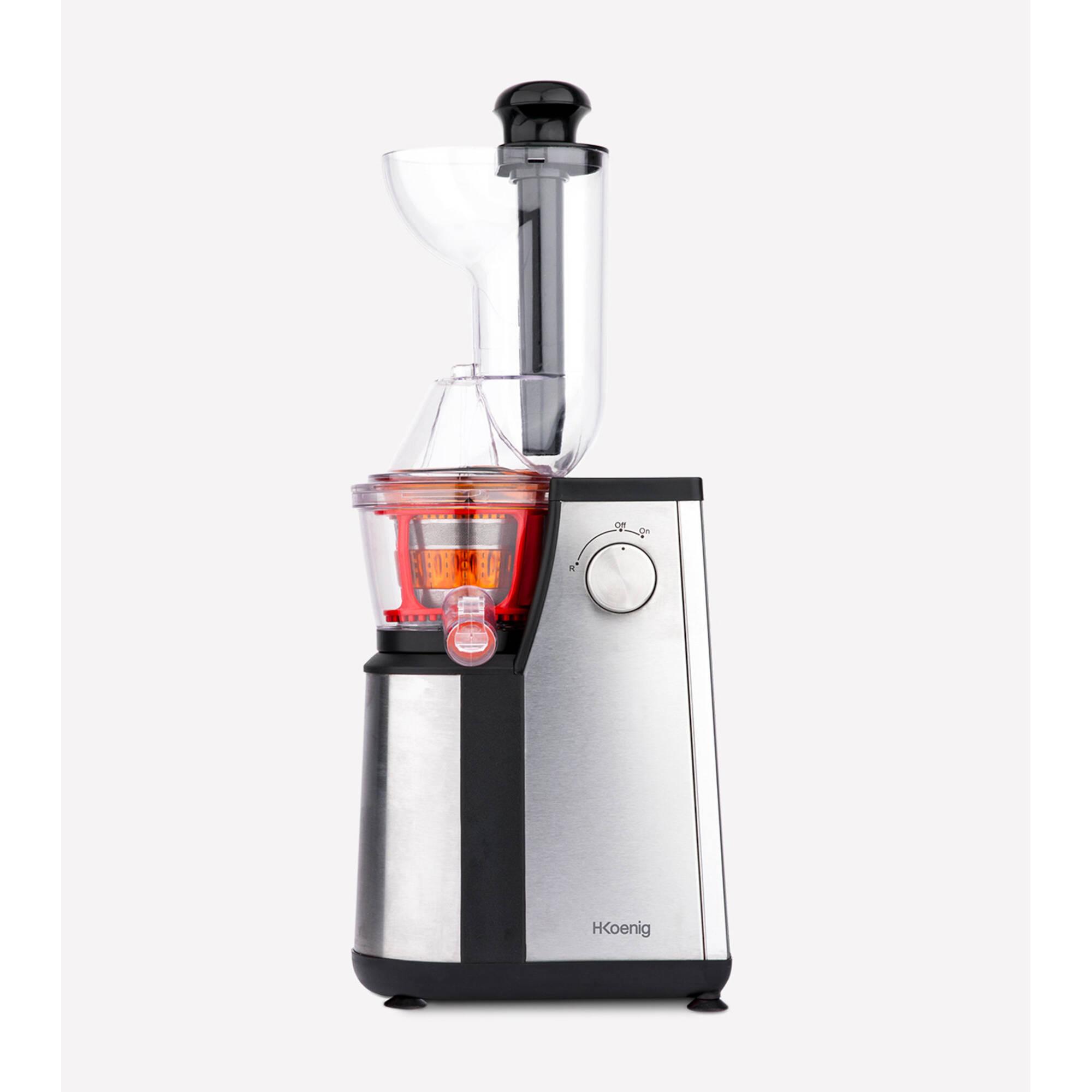 Estrattore di succo a lenta rotazione vitamin + 3 Filtri per succo, 50 giri/min, 21,5x24xh57 cm Peso 7,14