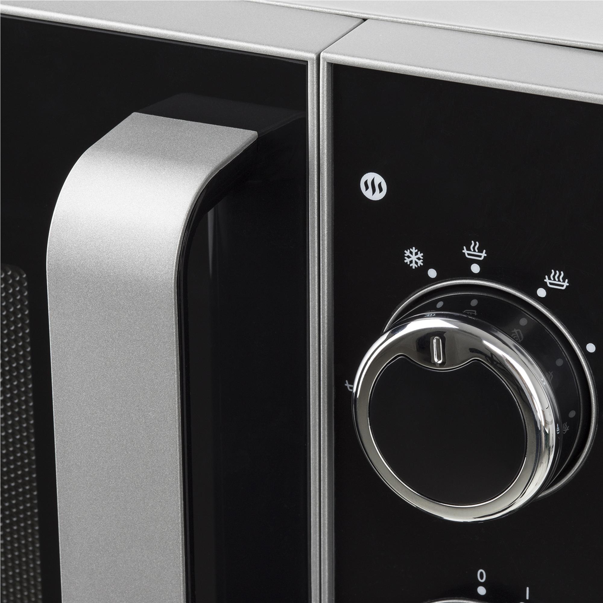 H.Koenig VIO6 Forno Microonde, 20L, 5 livelli di cottura