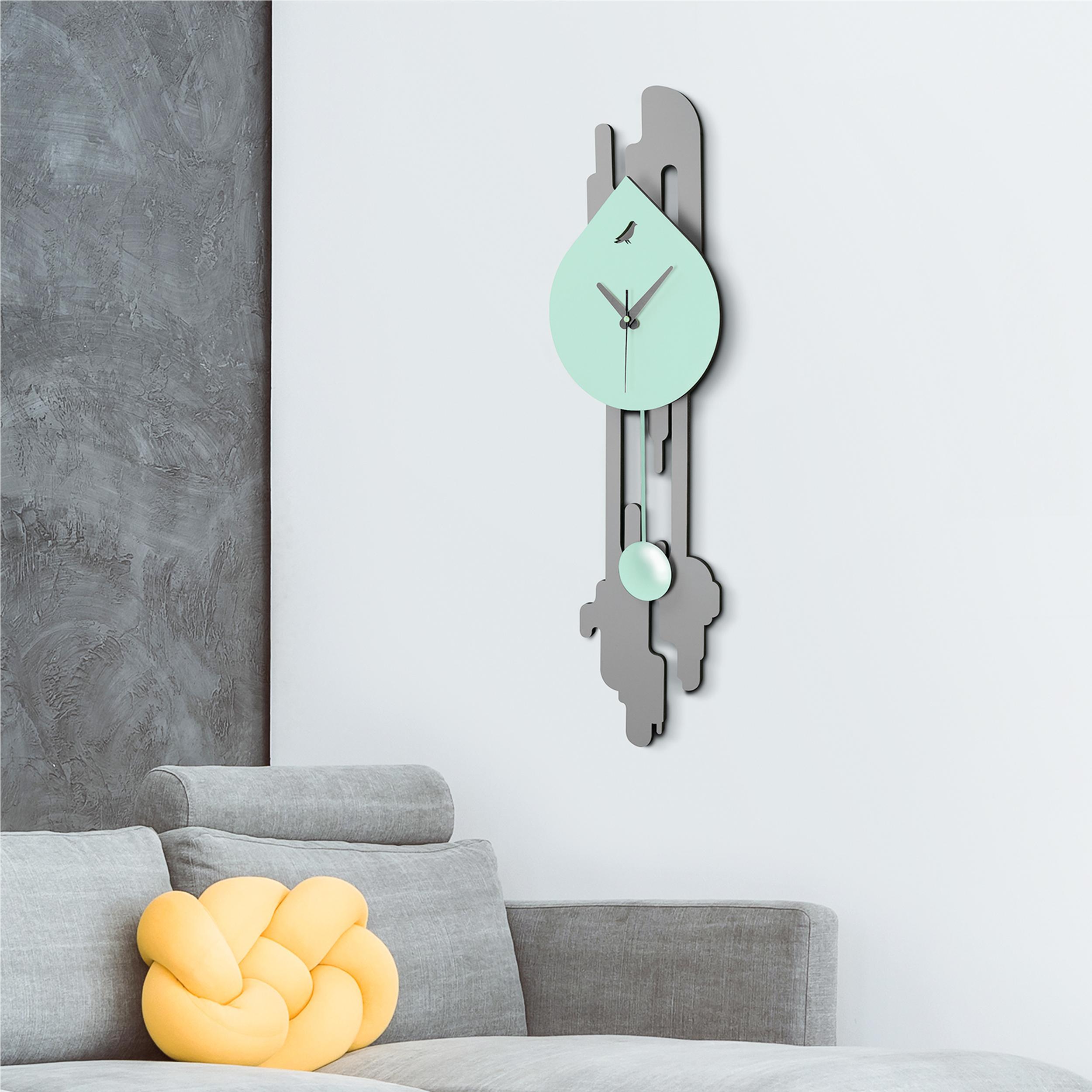 Nero 3D Design Orologio da parete Orologio da cucina Orologio del bagno Orologio da ufficio Decorazione parete Cameretta dei bambini Mela