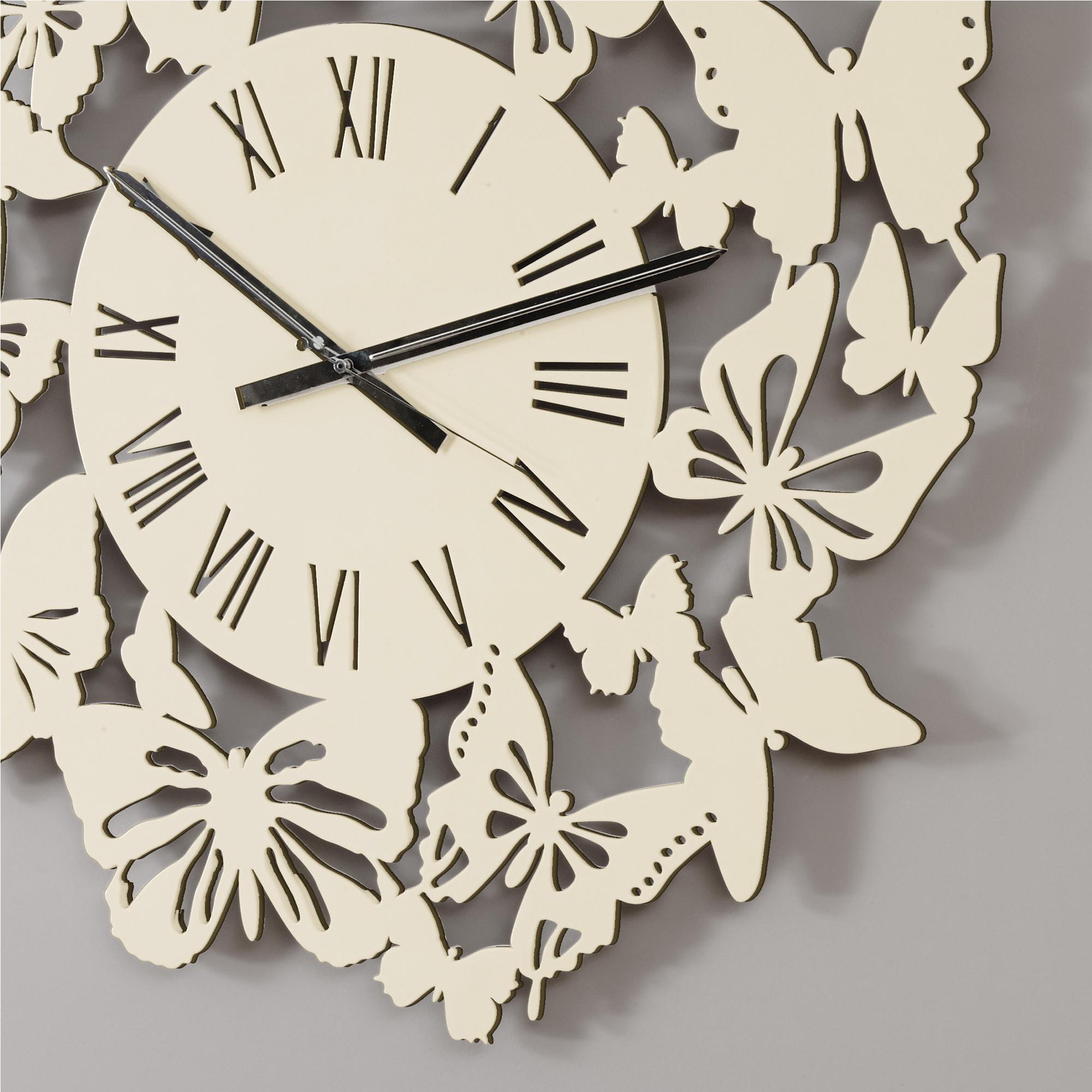 orologio da parete rotondo diametro 80 cm in legno volo di