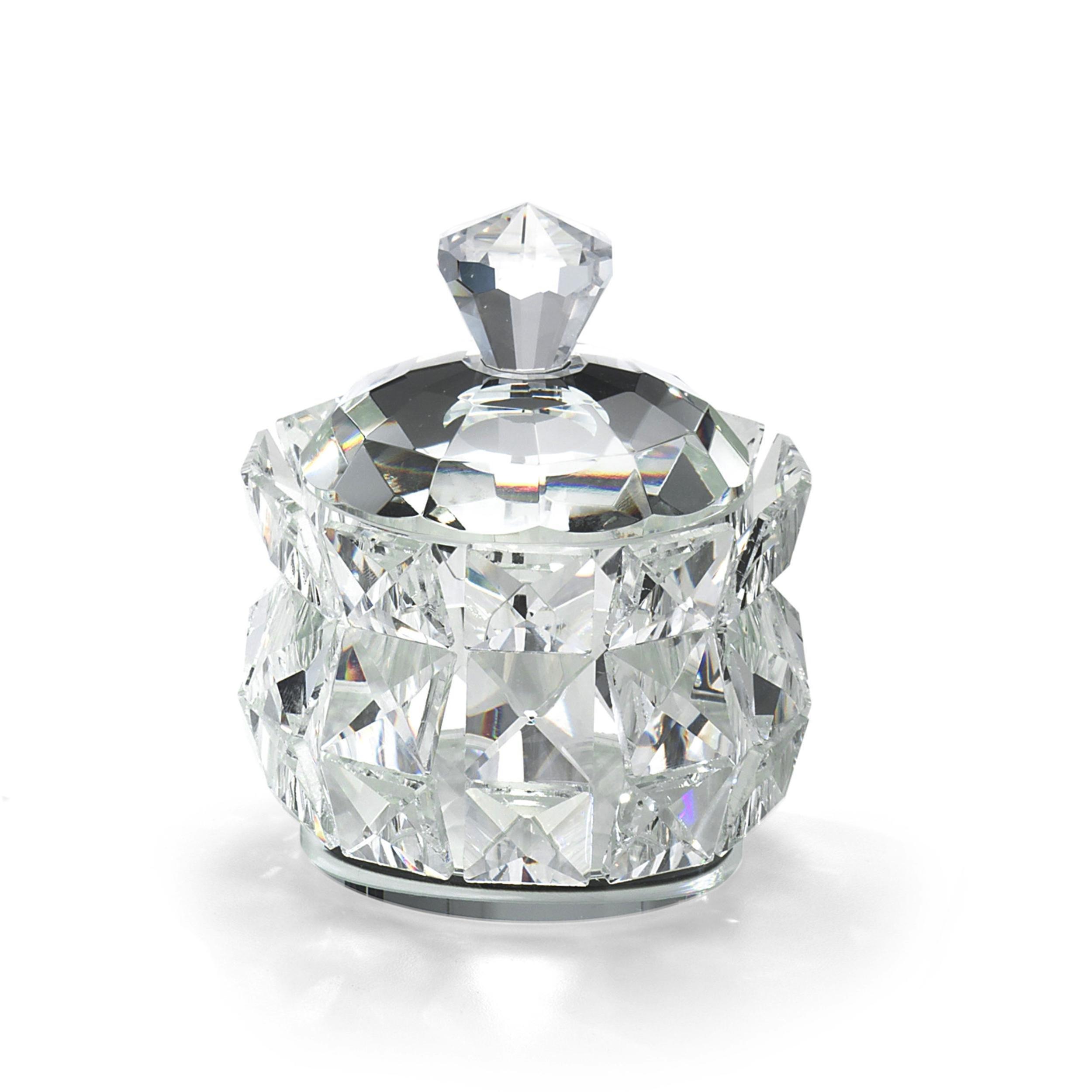 Bomboniere Matrimonio Cristallo.Scatola In Cristallo K9 Diamante 10 5x10x5xh11 Cm In Scatola