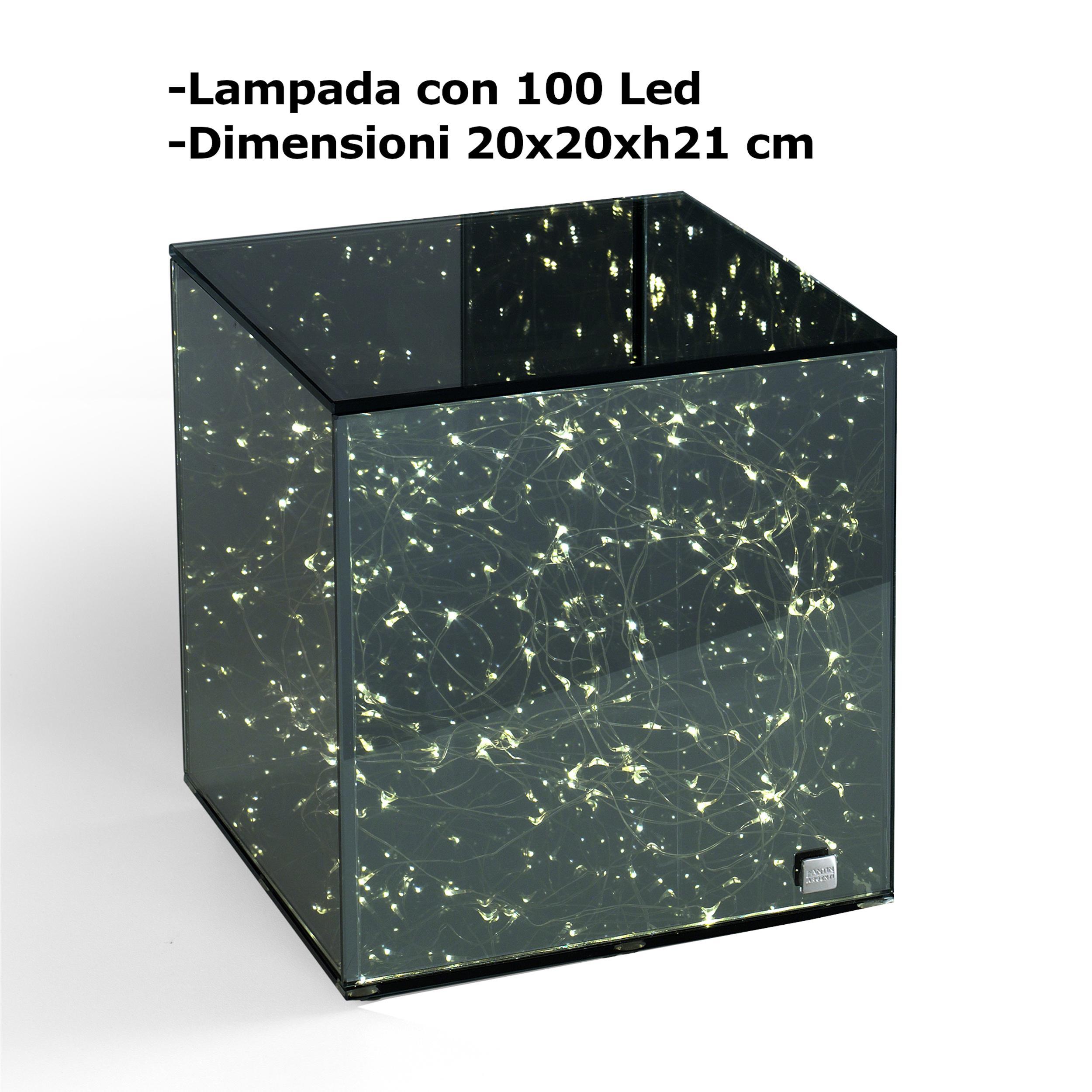 Fantin Argenti LAMPADA cubo, abat jour