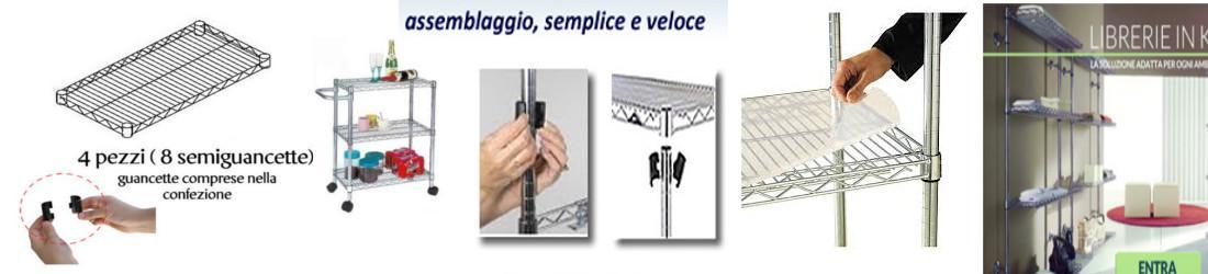 Viceversa Utility System Scaffalature.Carrello Utility Con Ruote Archimede System Stilcasa Net